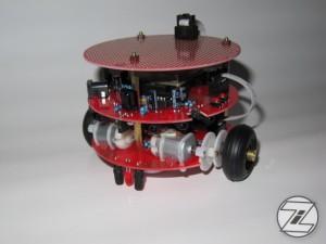 Pro-Bot128 zusammengebaut